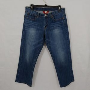 Luck Brand Jeans Blue Size 10 30 Little Distressed